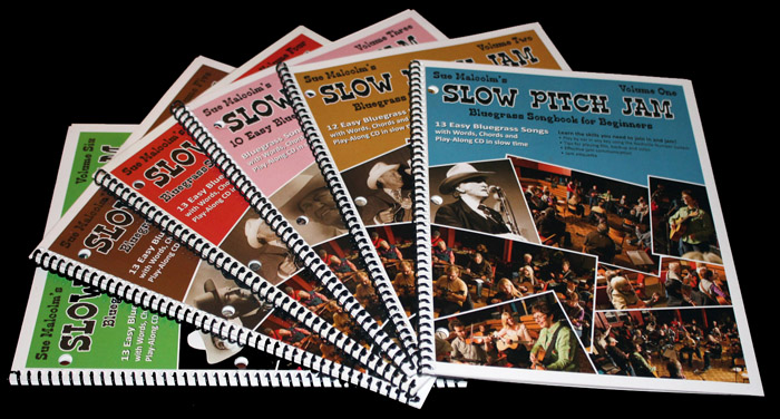 SLOWPITCH JAM BOOKS
